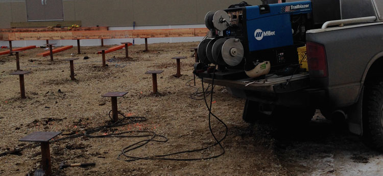 balcony screw piles