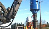 Modular Building screw piles